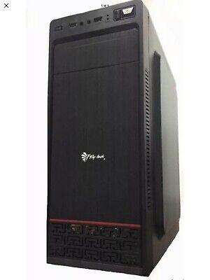 CASE ATX PC COMPUTER Fly-Tech® 170-5B + Alimentatore 550W - Front USB3.0 + AUDIO
