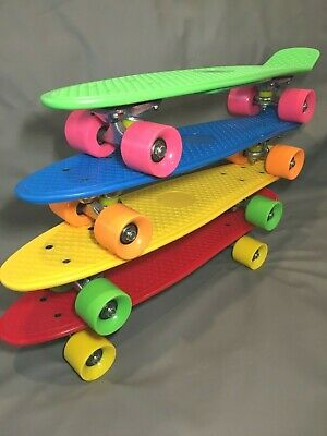 "skateboard 22"" mini cruiser + 1 free xtra wheel + Free Shipping!!"