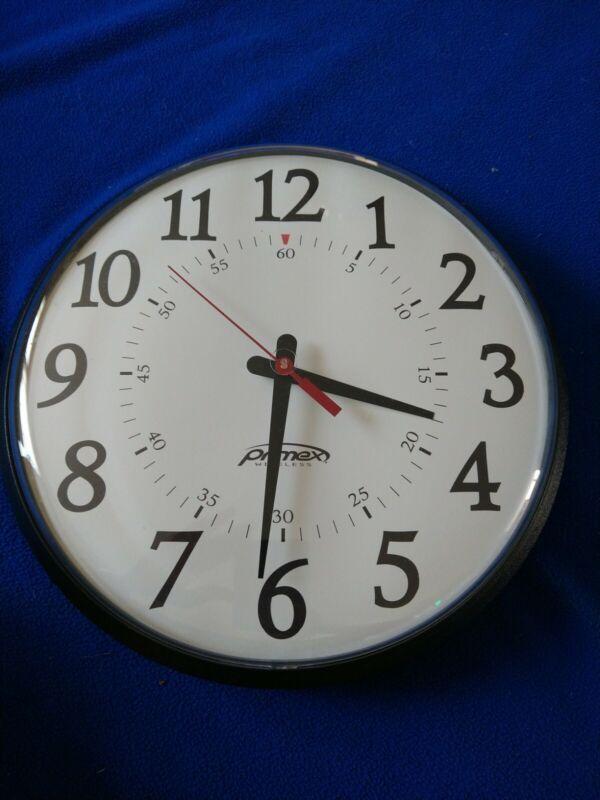 Primex Wireless Analog Wall Clock, Works
