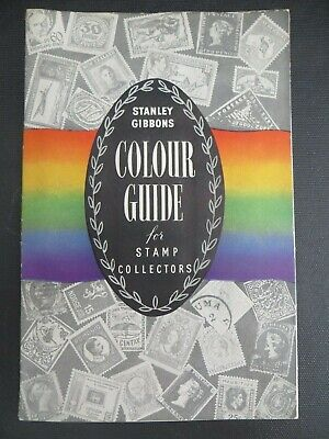 ORIGINAL STANLEY GIBBONS COLOUR COLOR GUIDE FOR STAMP COLLECTORS