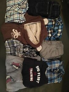 Baby boy clothes 3-6 months.