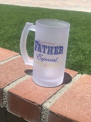 Frosted Beer mug (16oz) Father's Day