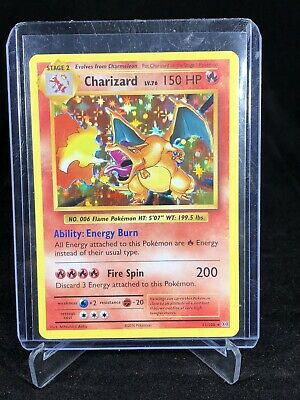 2016 Pokemon XY Evolution Charizard Holo Rare 11/108 Fresh Pull