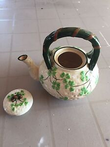 Ceramic Shamrock Tea Pot