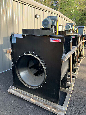 Chicago Blower Airfoil Centrifugal Fan Sqa Size 30 10000 Cfm 5 Sp 10hp Motor