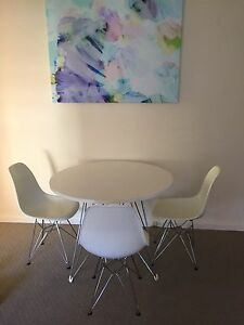 Eames table and chairs South Yarra Stonnington Area Preview