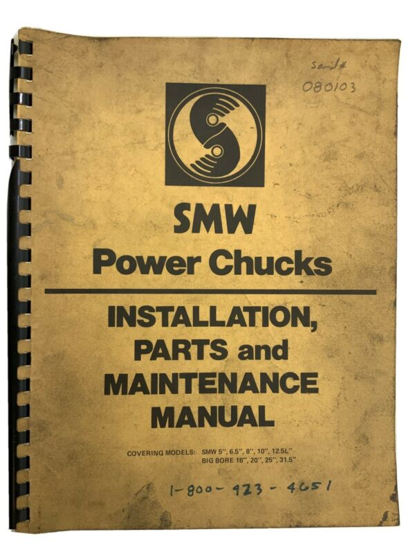 SMW Power Chucks Manual