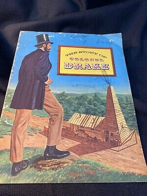 """Vintage 1954 """"THE STORY OF COLONEL DRAKE"""" COMIC BOOK by AMERICAN PETROLEUM INST."""