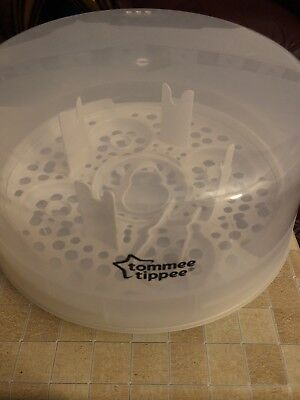 Tommee Tippee Closer to Nature Microwave Steam Steriliser Holds - 4 x