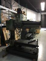 4' EMA radial arm drill press 575v