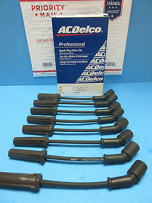For GMC Chevrolet Cadillac 99-07 ACDelco Spark Plug Wire Set 9748HH 10.5 in