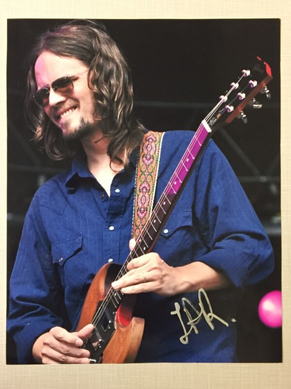 Luther Dickinson Signed Photo Black Crowes North Mississippi Allstars Rock WOW!