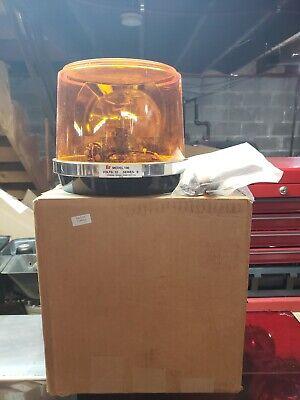 Federal Signal Model 100 Beacon Amber Lens Nos