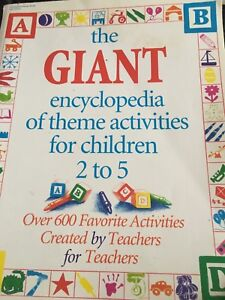 The Giant Book of activities for Children 2-5