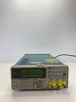 Tektronix Afg320 2 Channel 16mhz Function Arbitrary Waveform Generator