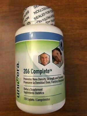 Univera 206 Complete  Multivitamin 120 caplets Bone Density Support Supplement