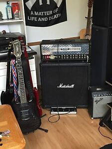 Mesa Dual Rectifier Solo Head/Marshall 4x10 straight cab