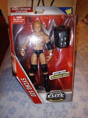 WWE Mattel Elite 39 Sycho Sid VICIOUS Flashback Wrestling Figure WWF WCW