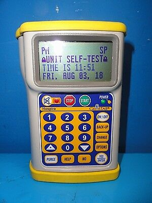2010 Hospira Gemstar Infusion Pump Yellow Cap 15678