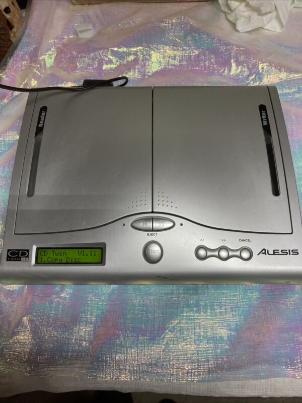 Alesis Cd Twin Portable Backup And Copy System