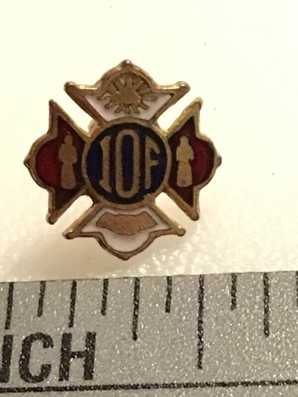 Independent Order of Foresters IOF Lapel Pin Vintage Tiny