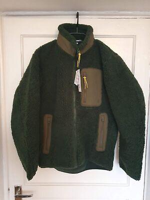 Uniqlo x J.W. Anderson Windproof Fleece Lined Full-Zip Jacket Dark Green - XS