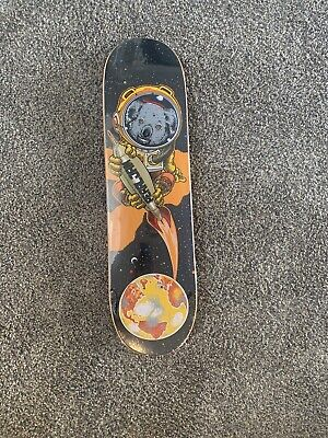 SIGNED RARE Strangelove Skateboard Deck 8.5 StrangeLove Sean Cliver / Pearl Jam