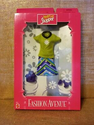 Barbie Fashion Avenue Teen Skipper 1997 NRFB 18379