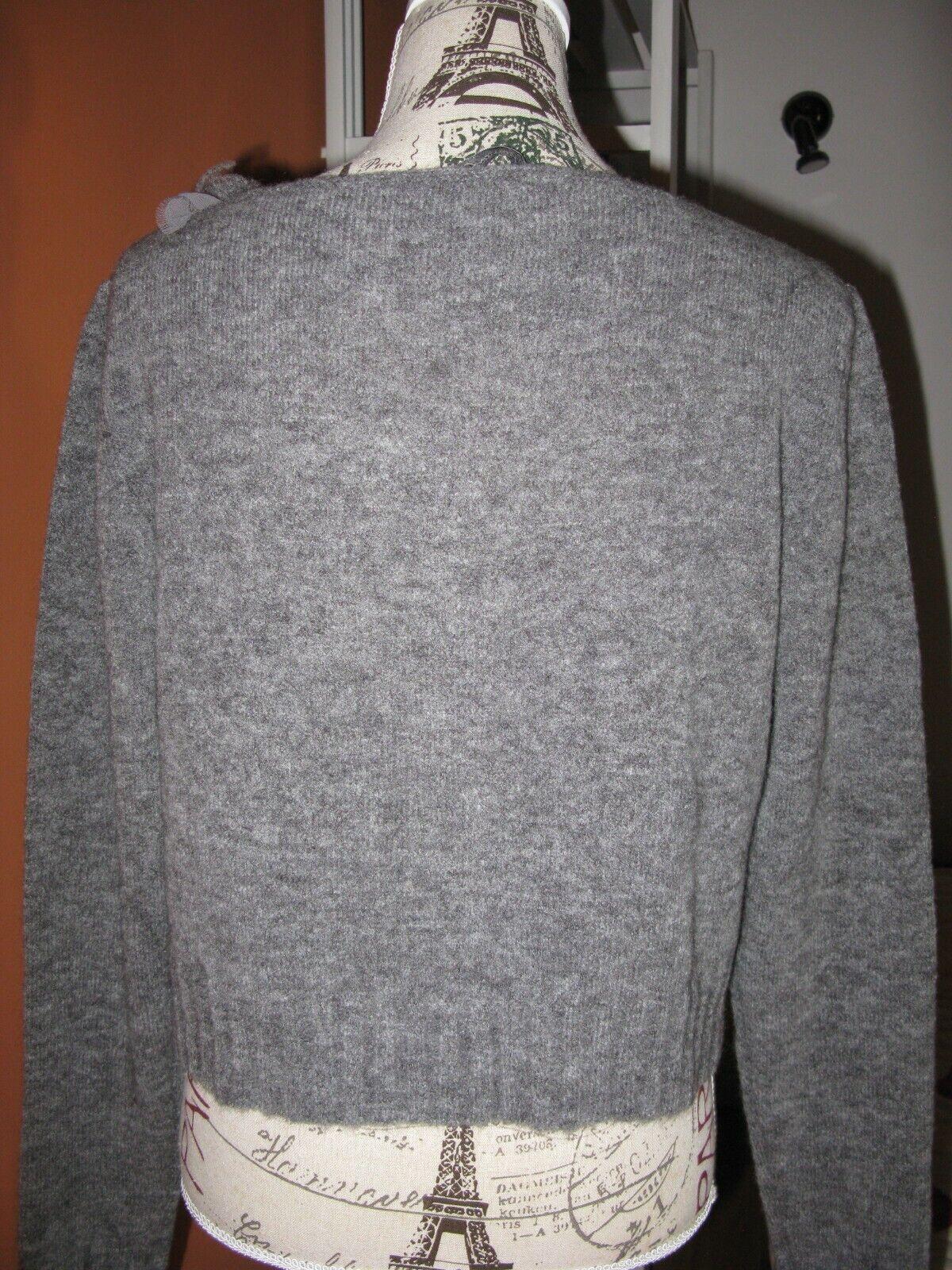 Gilet neuf gris