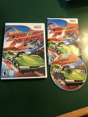 Hot Wheels: Track Attack (Nintendo Wii, 2010) Complete Looks And Works Great