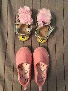 Toddler girls size 5 shoes ($8 each)
