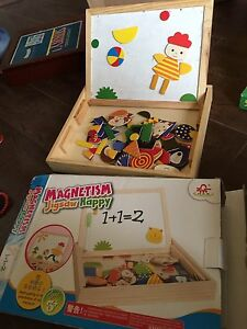 Magnetic Jigsaw Toy for 3+