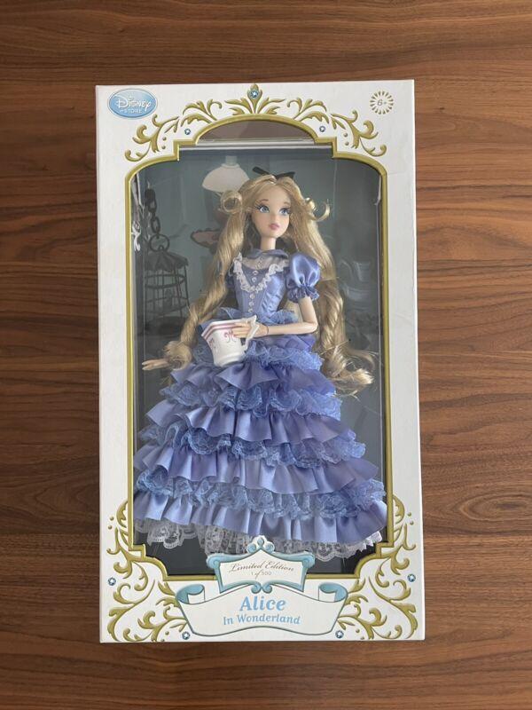 Disney Alice in Wonderland Doll Limited Edition Of 500 BNIB