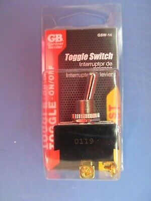Gardner Bender 20 Amp Double Pole Single Throw Toggle Switch Gsw-14  New