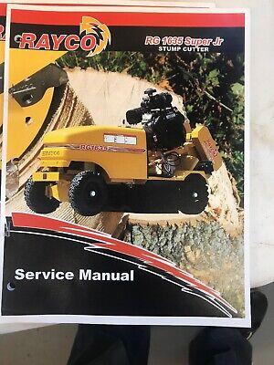 Rayco Rg1635 Super Jr Service Manual