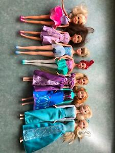 Assorted kids dolls