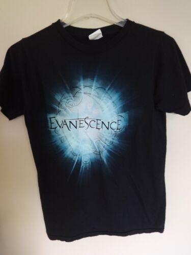 EUC * Evanescence * Band Graphic Printed Rock Band Tour T-Shirt Men Small