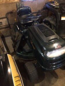17.5 hp yardworks lawn tractor