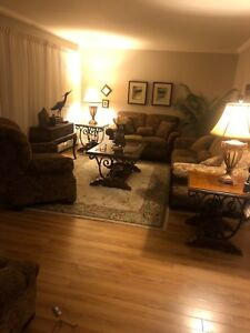 Fully furnished 2 bedroom home for rent (Utilities included)