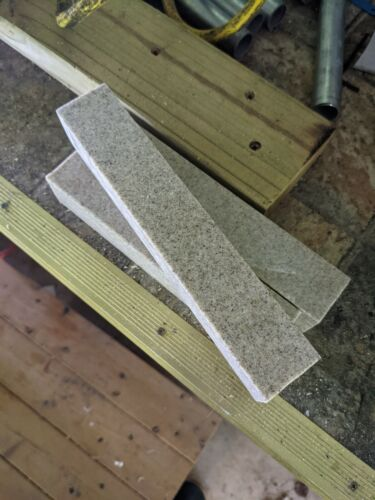 Corian color (sandstone) (3 pc) 35mm square 2-205mm 1-185mm in length