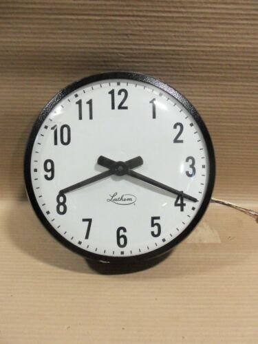 Lathem ISC12RFA Round Wall Clocks 13.5""