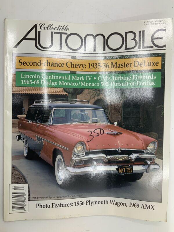 Collectible Automobile Magazine April 1998