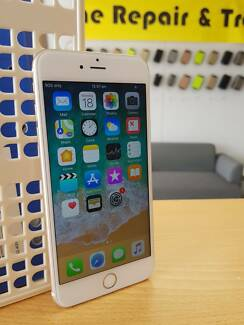 AS NEW IPHONE 6 PLUS GOLD 64GB COME WITH WARRANTY AND INVOICE