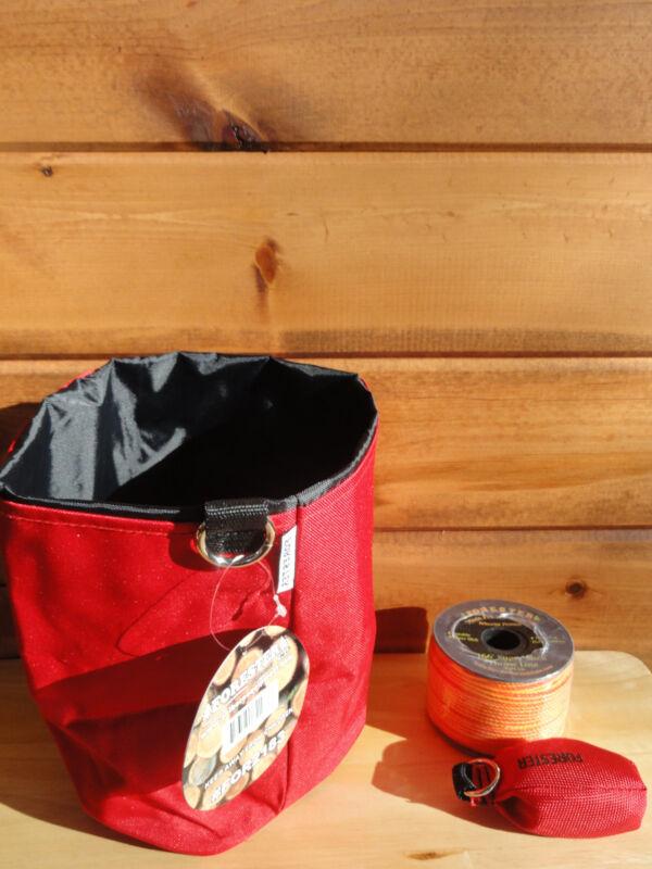 Arborist Tree Workers Throw Line Kit Rope Bag 1-15OZ Bag and 166