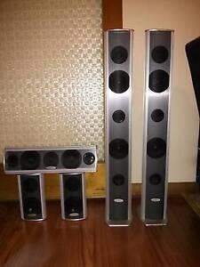 "High Quality Richter ""Precious Metal"" 5 piece speaker set RRP1499 Eden Hills Mitcham Area Preview"