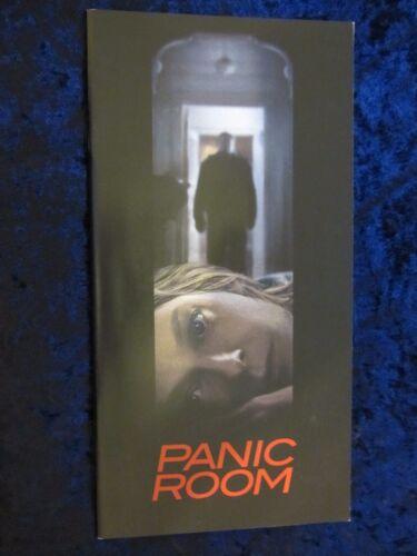 Panic Room press book - 22 pages - Jodie Foster, Kristen Stewart, David Fincher