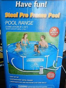 Clark Rubber 1700 Lt kids swimming pool with filter pump Sutherland Sutherland Area Preview