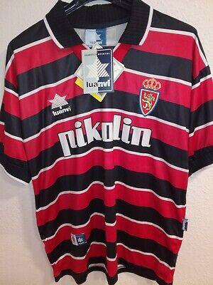 REAL ZARAGOZA 1999-2000 BNWT camiseta shirt trikot maillot maglia luanvi