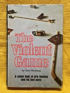Gary Ronberg - The Violent Game ( a close look at pro hockey...)