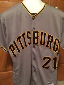 New Majestic Roberto Clemente Pittsburgh Pirates Jersey Men s L Free  Shipping ff95160cf